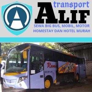 info sewa rental bus murah